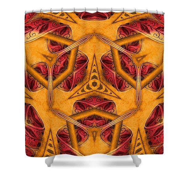 Shatter #4 Shower Curtain