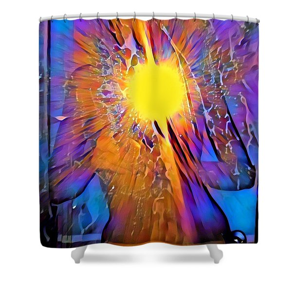 Shattering Perceptions   Shower Curtain