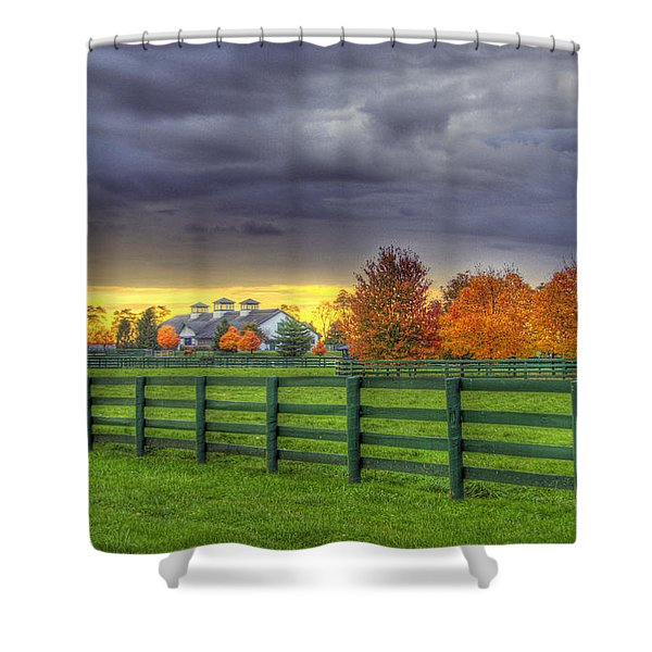 Shawanee Barn #2 Shower Curtain