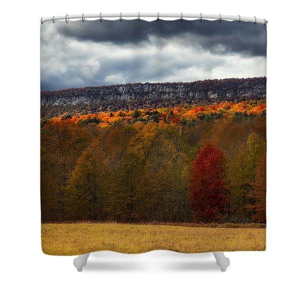 Shawangunk Mountains Hudson Valley Ny Shower Curtain
