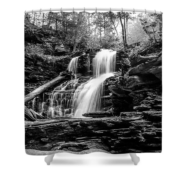 Shawnee Falls - 8892 Shower Curtain