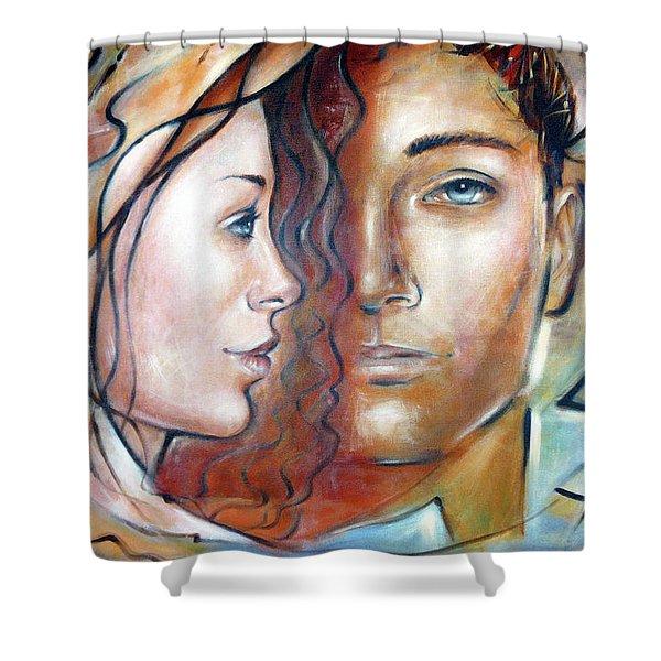 She Loves Me 140709 Shower Curtain