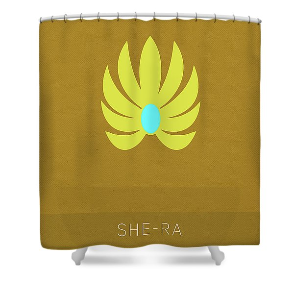 She-ra Princess Of Power My Favorite Tv Shows Series 014 Shower Curtain