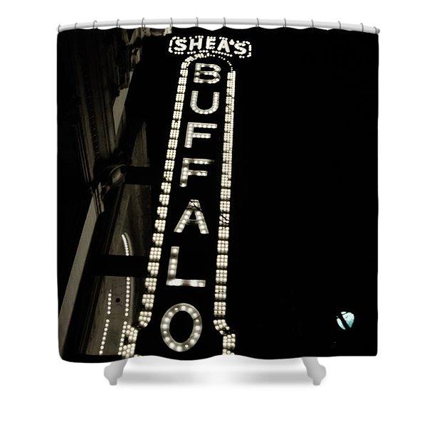 Shea's Buffalo Shower Curtain