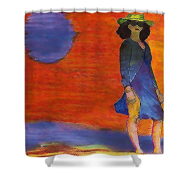 Sheba Shower Curtain