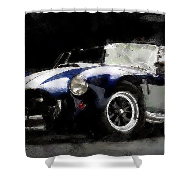 Shelby Cobra - 07 Shower Curtain
