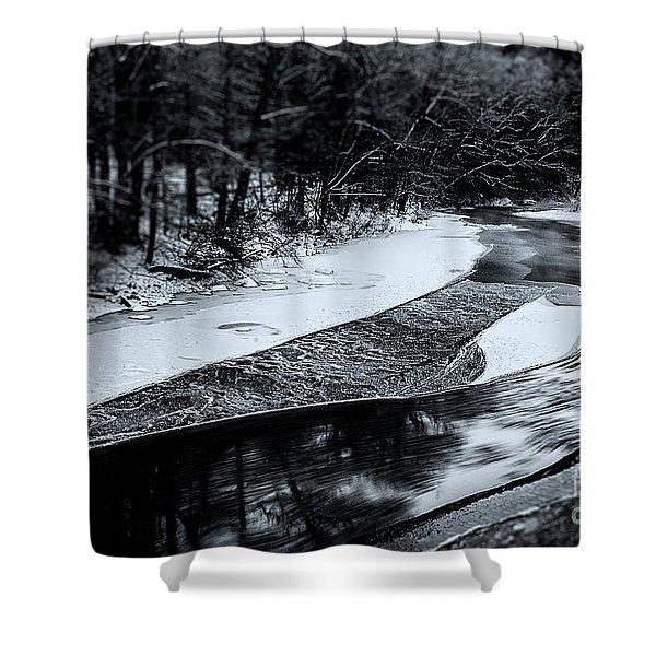 Shepaug River Shower Curtain