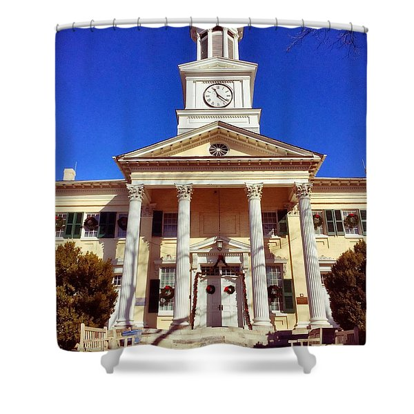 Shepherd University Shower Curtain