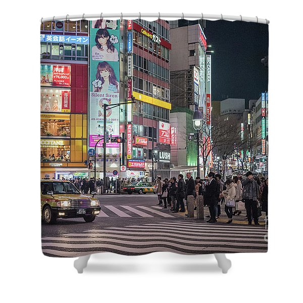 Shibuya Crossing, Tokyo Japan Shower Curtain