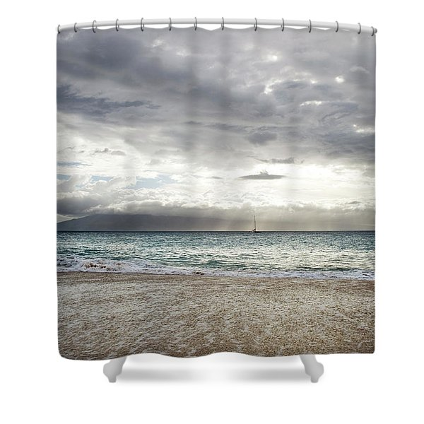 Shimmering Evening At Ka'anapali Shower Curtain