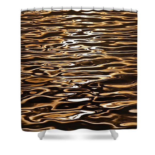 Shimmering Reflections Shower Curtain
