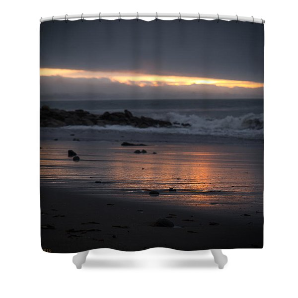 Shining Sand Shower Curtain