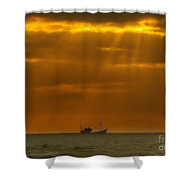 Ship Rest Shower Curtain