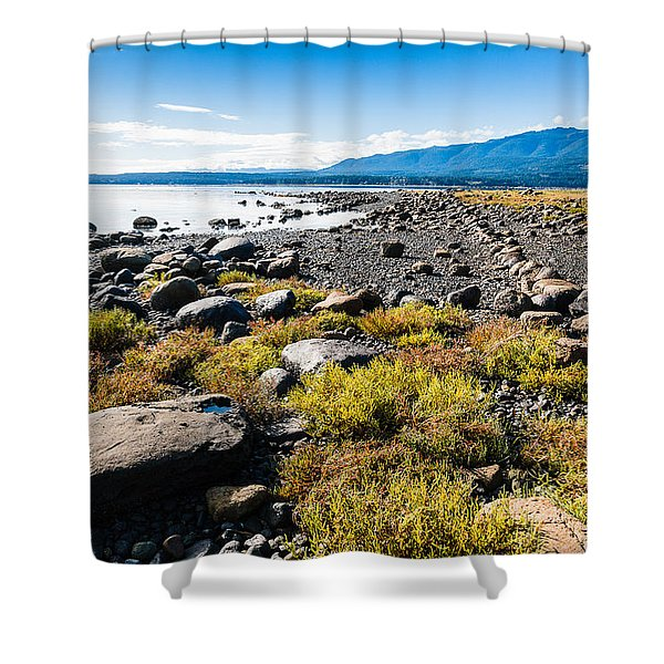 Ships Point Shower Curtain