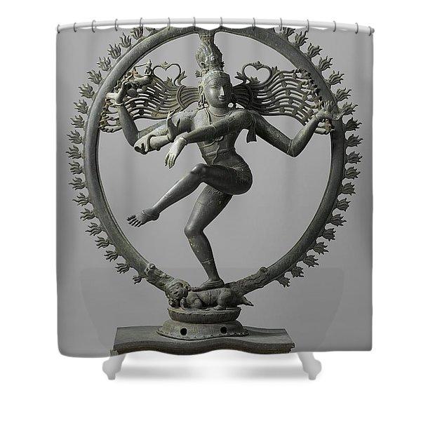 Shiva Shower Curtain