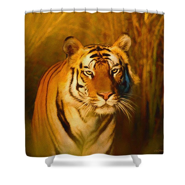 Shiva - Painting Shower Curtain
