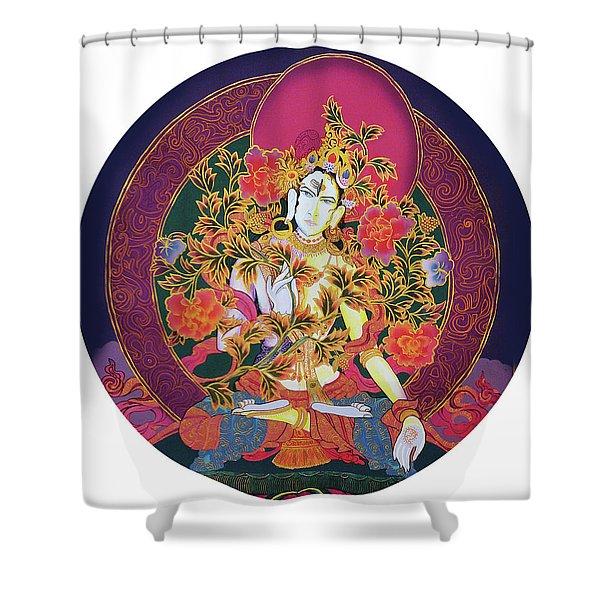 Shiva Shakti Yin And Yang Shower Curtain