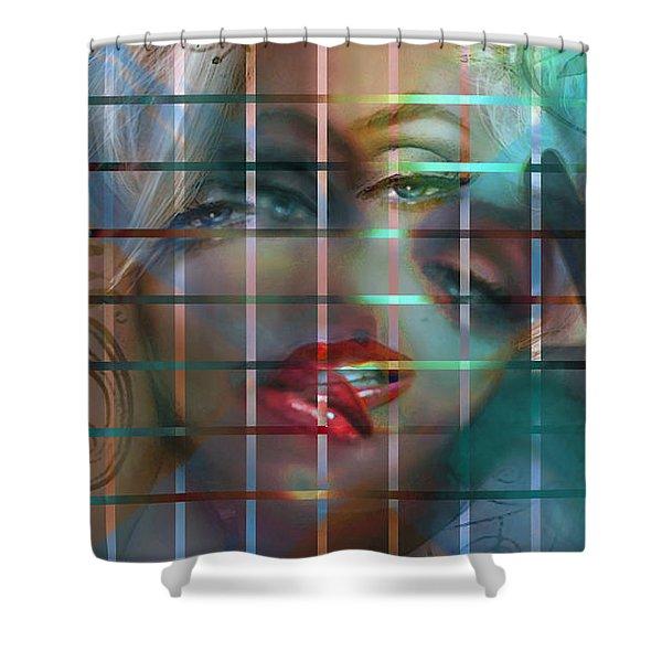 Shizo 1 Shower Curtain