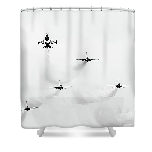 Shoot Up Shower Curtain