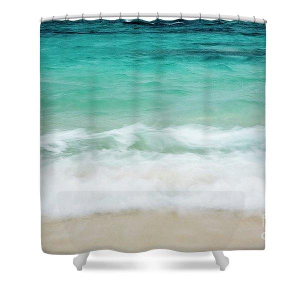 Shorelines IIi Shower Curtain