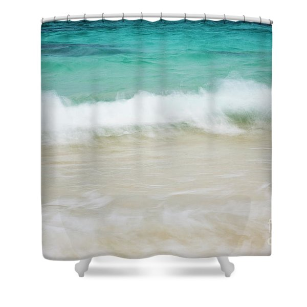Shorelines Iv Shower Curtain