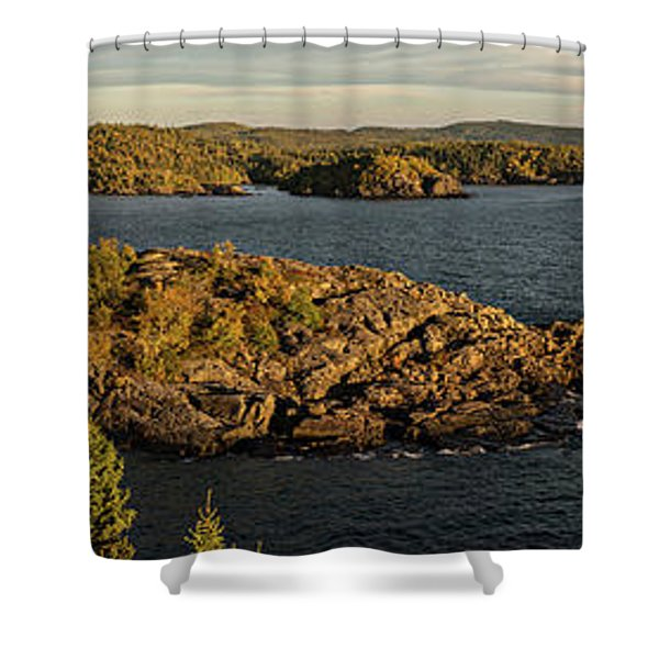 Shores Of Pukaskwa Shower Curtain