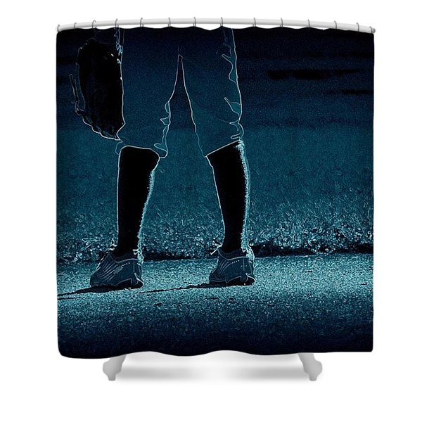 Short Stop Shower Curtain
