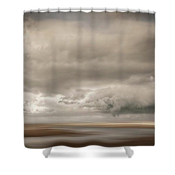 Short Wharf Creek 4 Shower Curtain