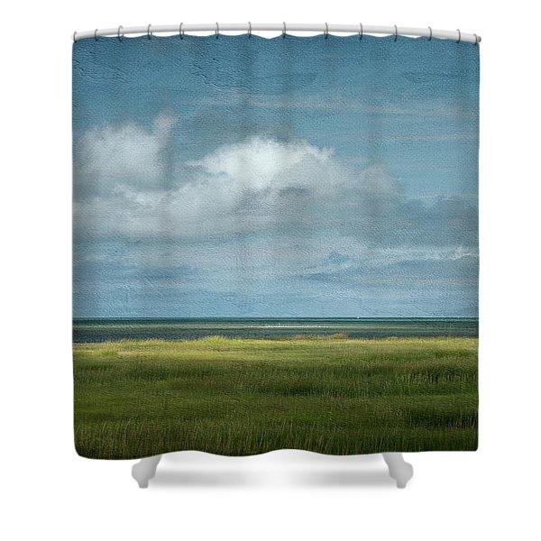 Short Wharf Creek 5 Shower Curtain