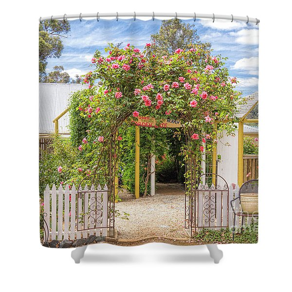 Shortest Way To Heaven #2 Shower Curtain