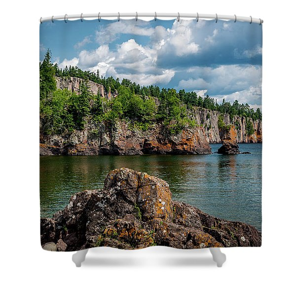 Shovel Point  Shower Curtain