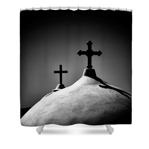Show Me The Path. Shower Curtain