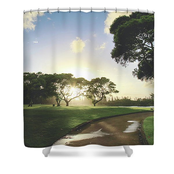 Show Me The Way Shower Curtain