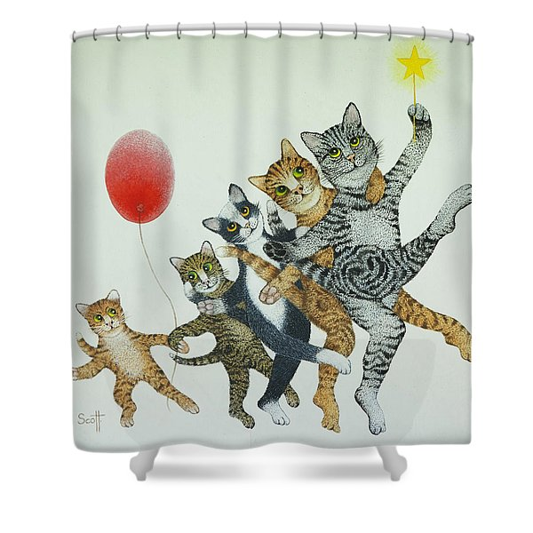 Show Stoppers Shower Curtain