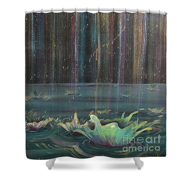 Showers Of Providence Shower Curtain
