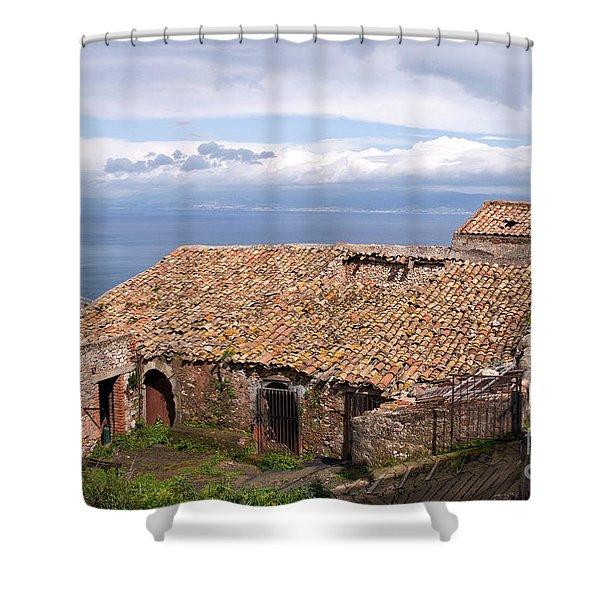 Sicilian Forgotten Sound Shower Curtain
