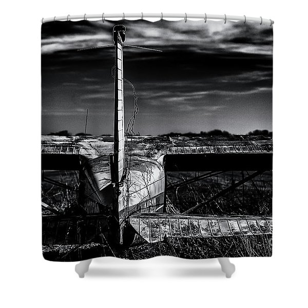 Sidelined Shower Curtain