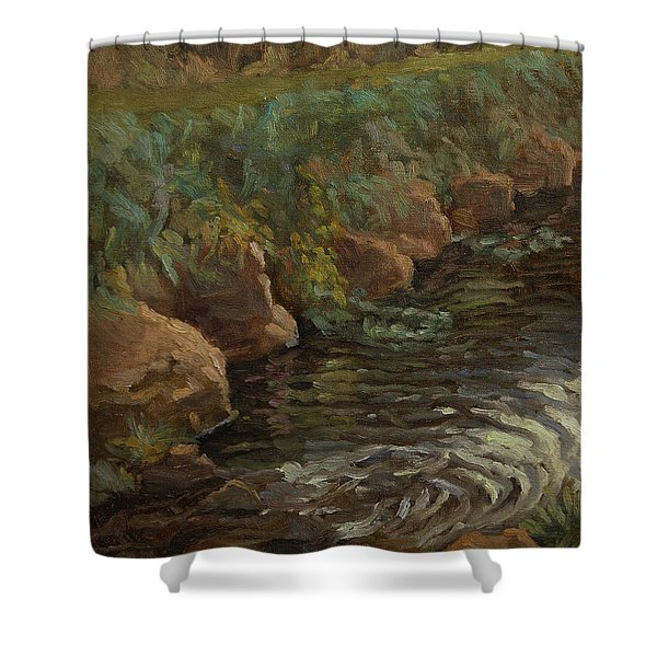 Sidie Hollow Shower Curtain