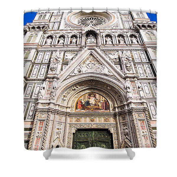 Siena Cathedral Shower Curtain