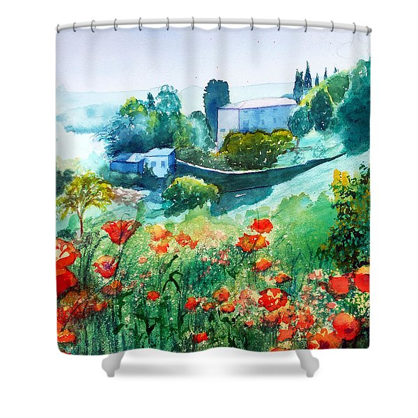 Siena View Shower Curtain