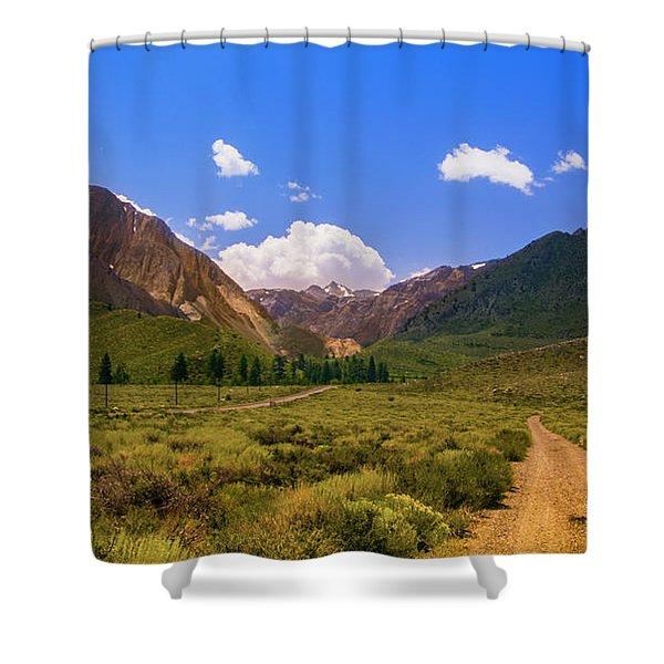 Sierra Mountains - Mammoth Lakes, California Shower Curtain