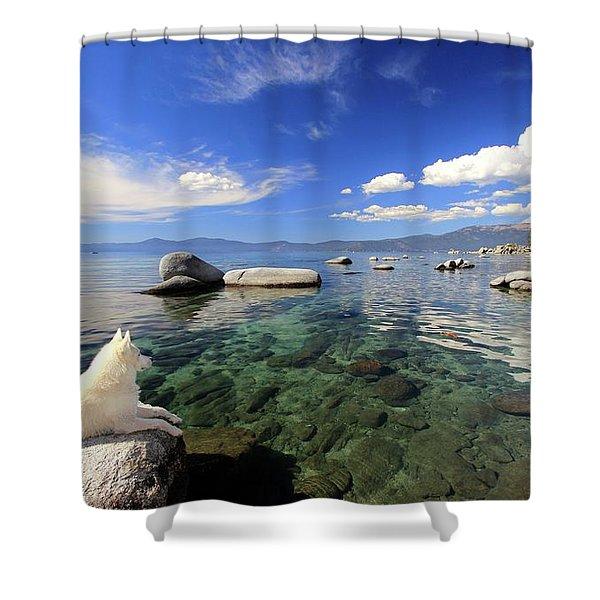 Shower Curtain featuring the photograph Sierra Sphinx by Sean Sarsfield