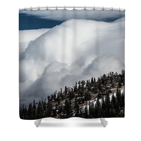Sierra Stormclouds Shower Curtain