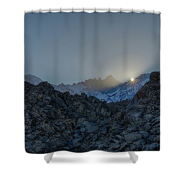 Sierra Sun Burst Shower Curtain