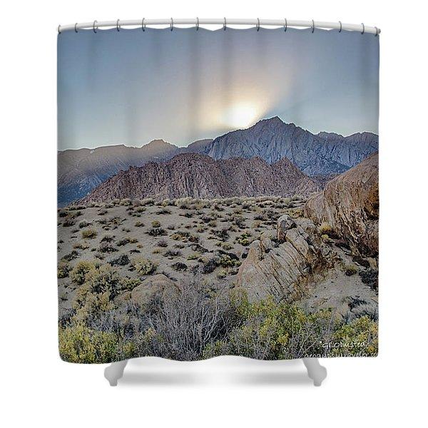 Sierra Sunrays Shower Curtain