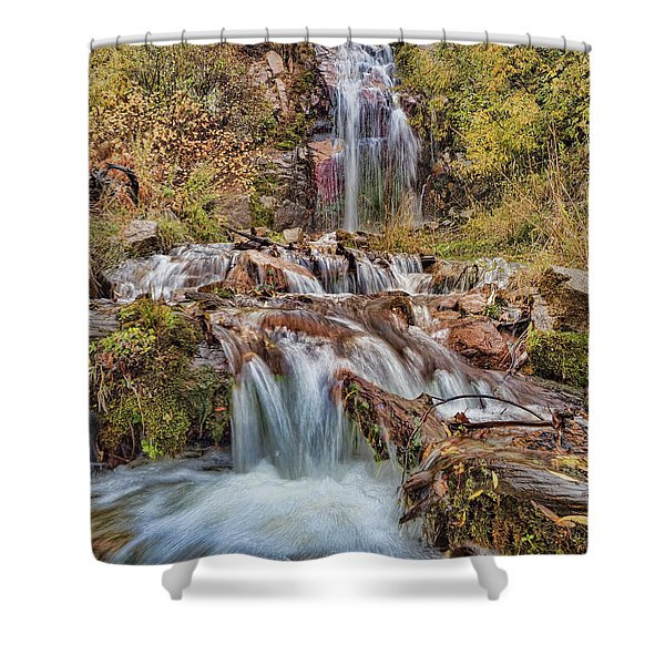 Sierra Waterfall Shower Curtain