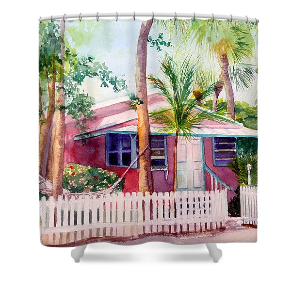 Siesta Key Cottage Shower Curtain