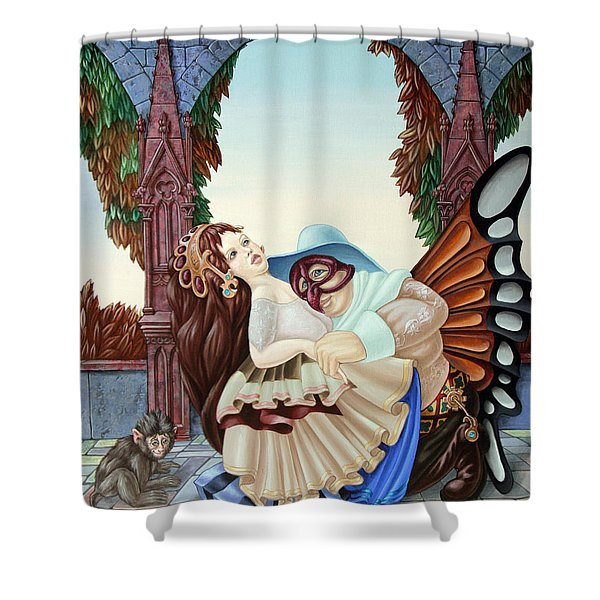 Sigmund Freud  Shower Curtain