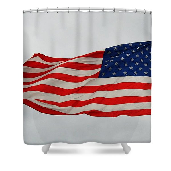 Sign Of Freedom Shower Curtain
