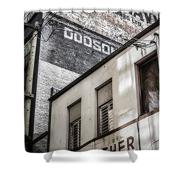 Signage Shower Curtain